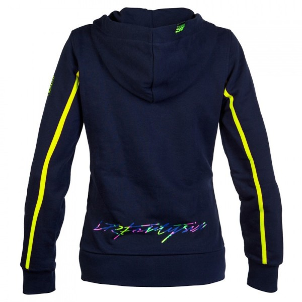 sweat capuche pour femme valentino rossi graffiti. Black Bedroom Furniture Sets. Home Design Ideas