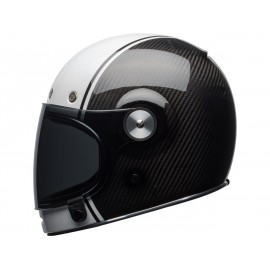Casque BELL Bullit Carbon Gloss White/Carbon Pierce taille L
