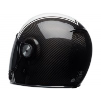 Casque BELL Bullit Carbon Gloss White/Carbon Pierce taille XS