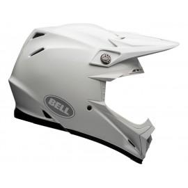 Casque BELL Moto-9 Flex Solid blanc taille XXL