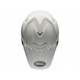 Casque BELL Moto-9 Flex Solid blanc taille L