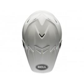 Casque BELL Moto-9 Flex Solid blanc taille M