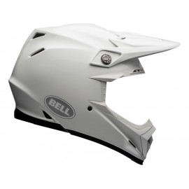 Casque BELL Moto-9 Flex Solid blanc taille S