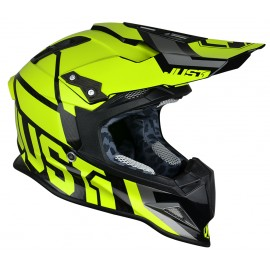 Casque JUST1 J12 Unit Yellow Fluo taille L