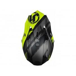 Casque JUST1 J32PRO Kick Yellow/Black/Titanium Matte taille XL