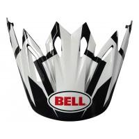 BELL Moto-9 Peak District blanc/noir/rouge