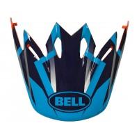 BELL Moto-9 Peak District bleu/orange