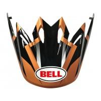 BELL Moto-9 Peak District noir/cuivre