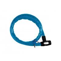 Antivol câble OXFORD Barrier 1,5m x 25mm bleu
