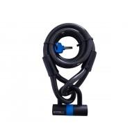 Antivol câble OXFORD Looplock 2m x 15mm fumé