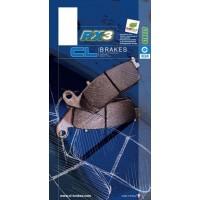 Plaquettes de frein CL BRAKES 1217RX3 métal fritté