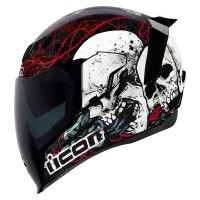 Casque Icon Airflite Skull 18