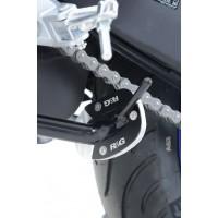 Patin de béquille R&G RACING argent Yamaha YZF-R3