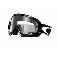 Masque OAKLEY XS O Frame Jet Black écran transparent