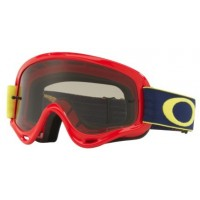 Masque OAKLEY XS O Frame Kickstart Red/Yellow écran Dark Grey