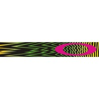 Masque OAKLEY O Frame Shockwave Pink/Yellow/Green écran transparent