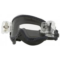 Masque OAKLEY O Frame True Carbon Race Ready Roll-Off écran transparent