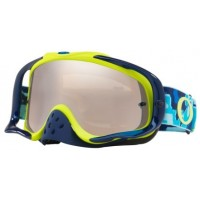 Masque OAKLEY Crowbar Thermo Camo Blue/Lime écran Black Iridium