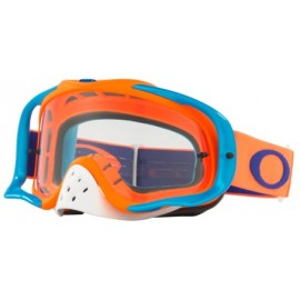Masque OAKLEY Crowbar Orange/Blue écran transparent