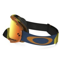 Masque OAKLEY Crowbar Biohazard orange écran Fire Iridium