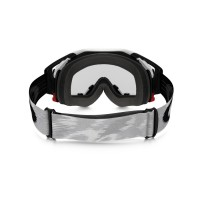 Masque OAKLEY Airbrake Matte White Speed écran transparent