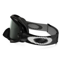 Masque OAKLEY Crowbar Jet Black Speed écran Dark Grey