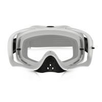 Masque OAKLEY Crowbar Matte White Speed écran transparent