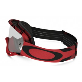 Masque OAKLEY O Frame Intimidator Red/Black écran Transparent