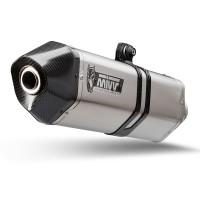 Ligne complète MIVV Speed Edge inox silencieux inox/casquette carbone Kymco AK-550