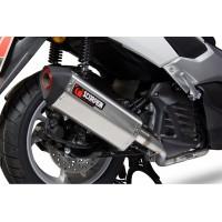 Ligne complète SCOPRION Serket inox silencieux noir céramique/casquette noir ABS Yamaha N-Max 125