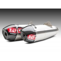 Ligne complète YOSHIMURA RS-9T titane/2 silencieux titane/casquette carbone Honda CRF250R