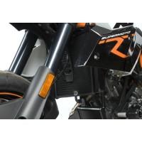 Protection de radiateur R&G RACING noir KTM 990 SMR/SMT