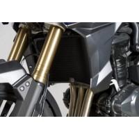 Protection de radiateur R&G RACING alu noir Triumph Tiger 1200 Explorer