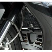 Protection de radiateur (huile) R&G RACING noir Suzuki GSF650S/N Bandit