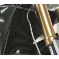Protection de radiateur R&G RACING noire Suzuki GSR750