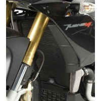 Protection de radiateur R&G RACING noir Aprilia Tuono V4R