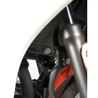 Protection de radiateur R&G RACING noir Honda CBR250R