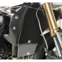 Protection de radiateur R&G RACING noir Triumph Speed 94/R / Speed Triple 1050/R
