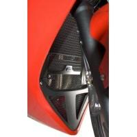 Protection de radiateur (eau & huile) R&G RACING noir Triumph Sprint ST/GT 1050
