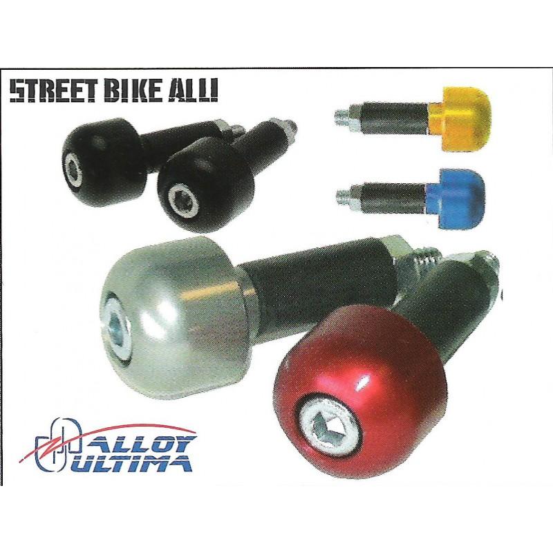 Embouts de guidon Street bike alu