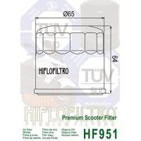 Filtre à huile HIFLOFILTRO HF951 noir Honda