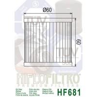 Filtre à huile HIFLOFILTRO HF681 Hyosung
