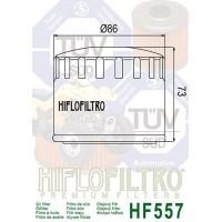 Filtre à huile HIFLOFILTRO HF557 noir