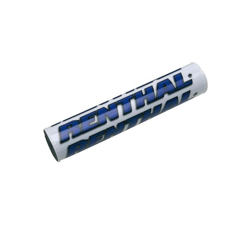 Mousse de guidons Renthal blanc et bleu