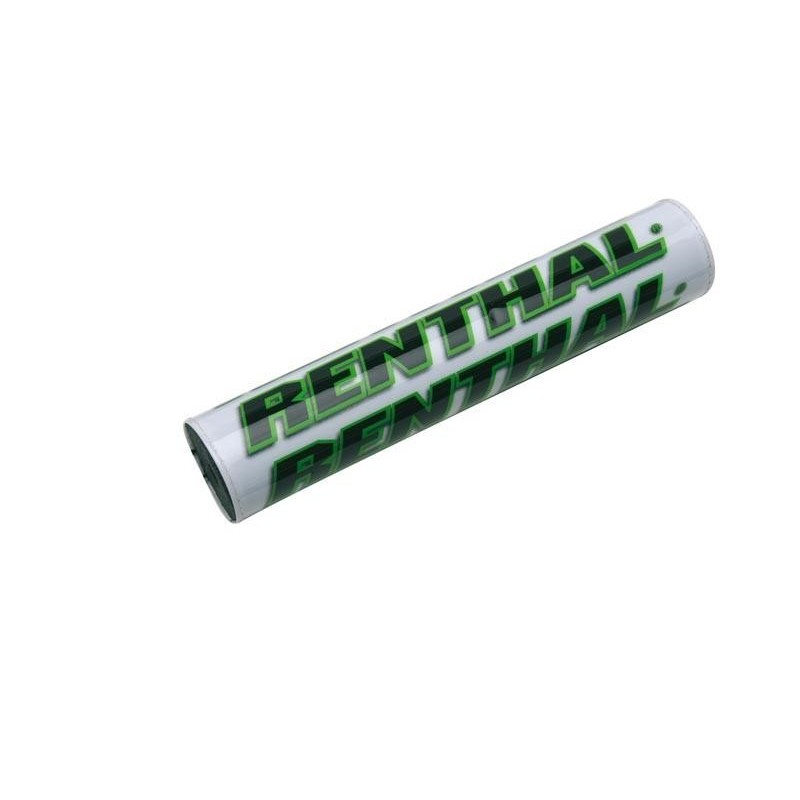 Mousse de guidons Renthal blanc et vert