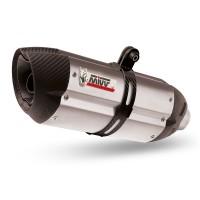 Silencieux MIVV Suono inox/casquette carbone KTM 690 Enduro/SMC