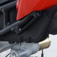 Caches orifices repose-pieds arrière R&G RACING noir BMW S1000RR