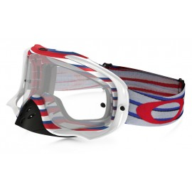 Masque OAKLEY Crowbar Nemesis RWB écran transparent