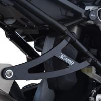 Patte de fixation de silencieux R&G RACING noir BMW