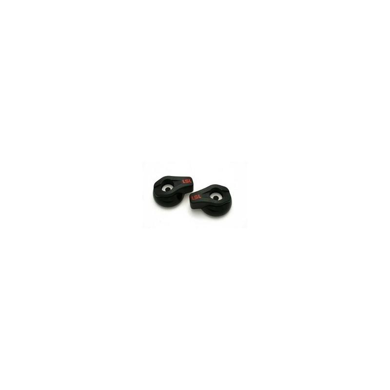 Tampons de protection LSL noir mat
